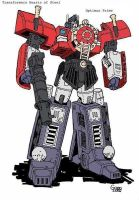 Optimus Prime H.O.S. robot by Trainguy