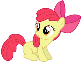 Apple Bloom - ''huh?'' by thatguy1945
