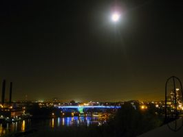 35W With Moon by Austron