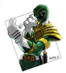 Go Green Power Ranger GO by herms85