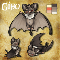 Gibo the little Bat by ThatWildMary