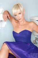 Kate in the Bathroom by JBaxterPhoto