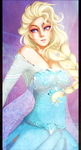 =FROZEN= Elsa by Emy-san