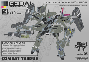 Combat Taedus Gedai Ya'eel (Flats Only) by Nidaram