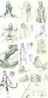 Sketch Dump May-September by Kutty-Sark