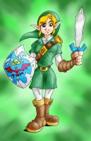 Link the Courageous by AgentRadKid