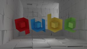 QUBE 3D logo by Mc-Squiggle