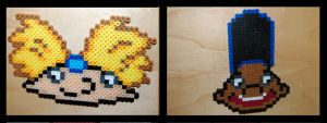 Hey Arnold perler beads by maypoman