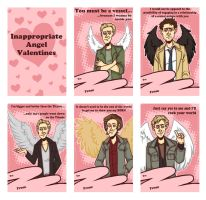 Inappropriate Angel Valentines by PotatoCrisp
