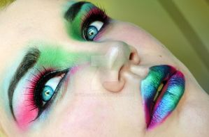 Intergalactic Goddess Make-up by VMeganJ