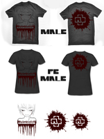 Rammstein Shirt design-Contest by Fangschrecke
