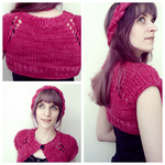 Anthropologie-Inspired Capelet by emiko42
