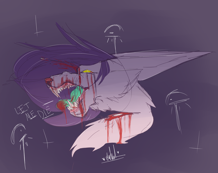 The Bullet Hit But Maybe Not by PastelTeaa