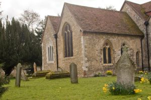 12th Century Church Stock 1 by Sheiabah-Stock