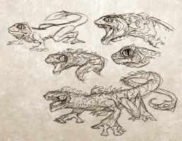 Creature concepts 2 by Iantoy