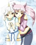 helios and chibiusa by ZodaFalcon