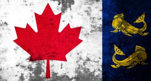 flag of the Canadian Coast guard (grunge) by flagArtist