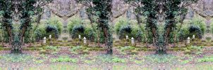 The Holland Park Requies Cat In Stereo Pacem by aegiandyad