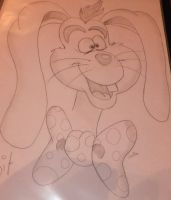 Roger Rabbit Drawing by chloesmith8