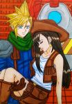 EoFF FFVII moments:Cloud x Tifa, fulfilled promise by dagga19