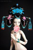 Cixi, the Young Empress by Marina-B