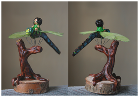 Fairy Sculpture II by ginkgografix