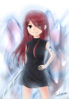 Erza the kid by Sylvae00