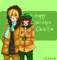 SP: Happy Holidays by cannorachan