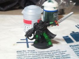 Salamander Captain in Progress by NekoZGod