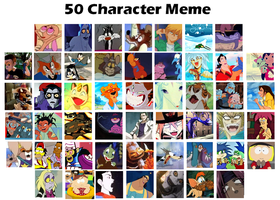 cartoon characters meme by coffeebandit