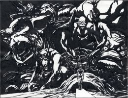 Earth-X 0 Marvel Monsters JPL 1999 by BillReinhold