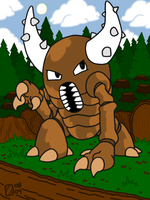Pinsir by professorhazard