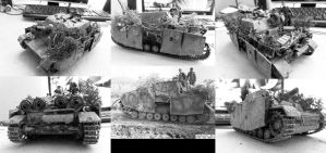 Sturmpanzer Comparison to Real Photo by buster126