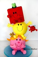 Mr. Men Cake by Verusca