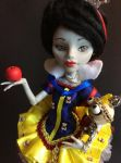 Snow white ooak doll by lantis-kelly