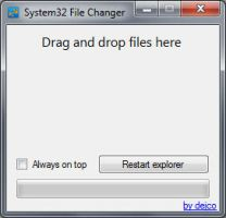 System32 File Changer v3 by dejco