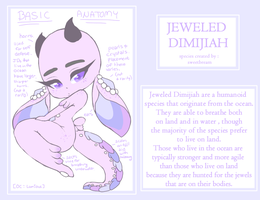 Species Concept - Jeweled Dimijiah by sweetbream