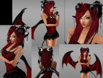 IMVU Demon by ArielHowell