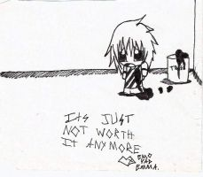 Just Not Worth It by animelover12281