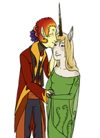 Kisses by AskNixthePhoenix