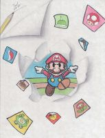 Paper Mario Sticker Star by Twinkie5000