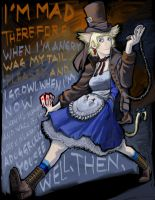 Cat+Alice+Hatter+Rabit by StriderS