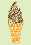 Typography Design - Ice-cream by fizzybb