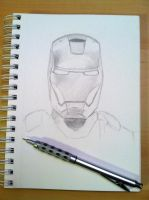 Iron Man WIP by TopazBlitz