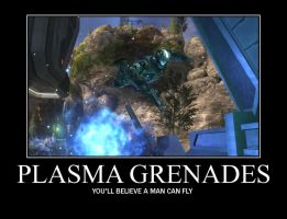 Plasma Grenades Demotivational by Vhetin1138