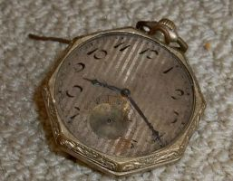Very Old Pocket Watch stock by specialoftheweek