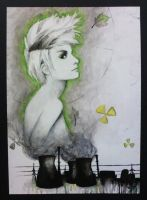 Radioactive Girl by ZombieHeart