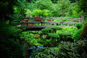 Japanese Garden, Portland OR by christian-warias