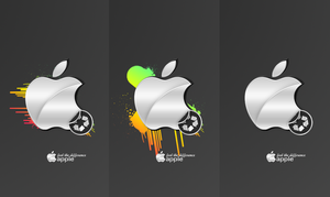 Apple Wallpapers - old school. by cassi94