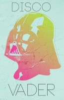 Disco Vader by Dweezle